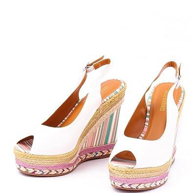 50e6e503a Dech Barrouci Classy Gold Wedge Heels High Heels Comfortable Fit Ladies  Sandals Girls Sandals Heels Party