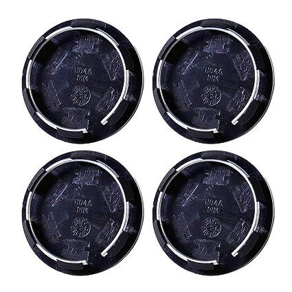 Cubierta de buje para ruedas, 4 tapas de llantas universales de 50 mm, para