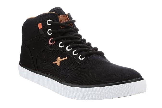 Sparx Men 282 Black Tan Casual Shoes