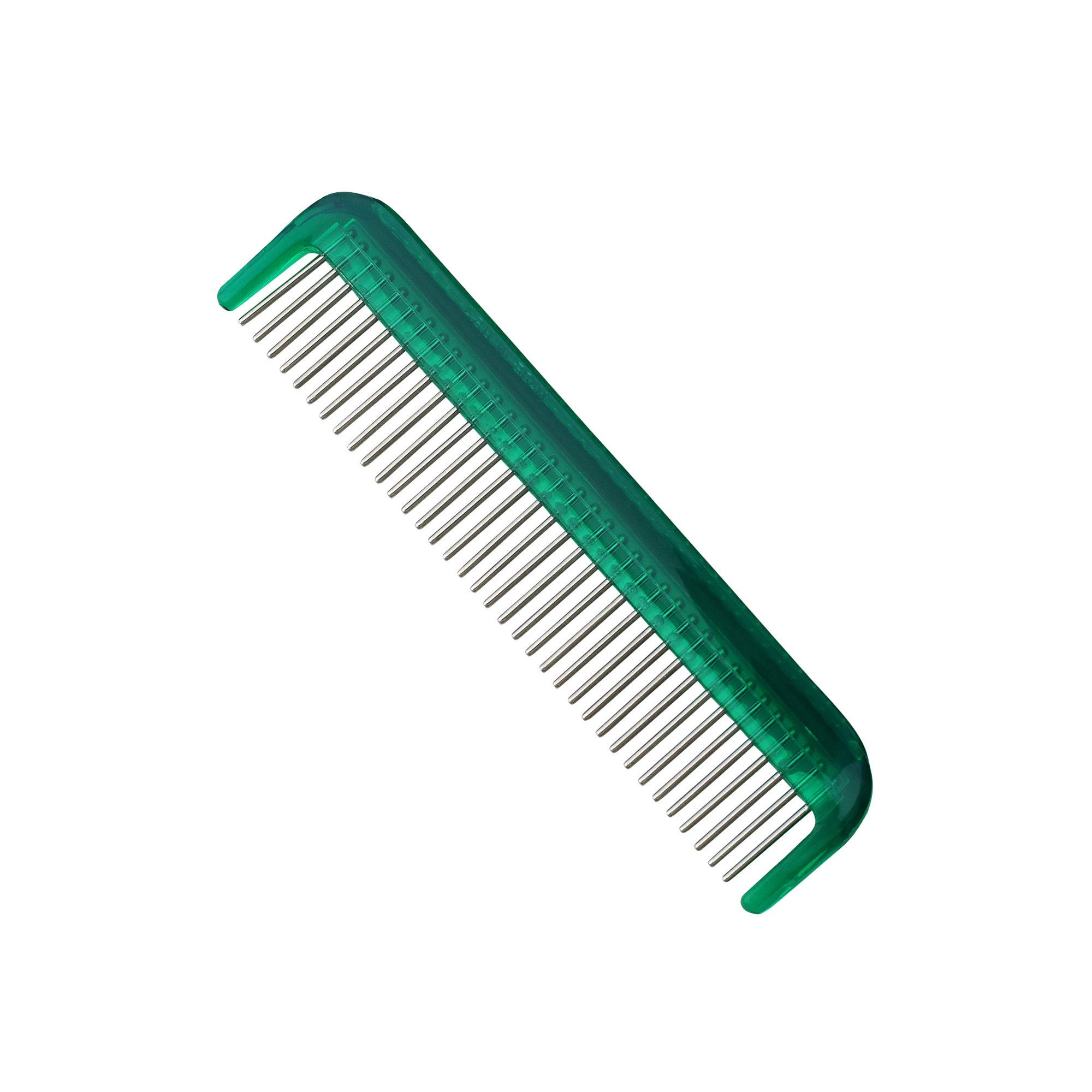 "The Hair Doctor Ladies Rotating Tooth Pocket Comb (5"" Emerald Green)"