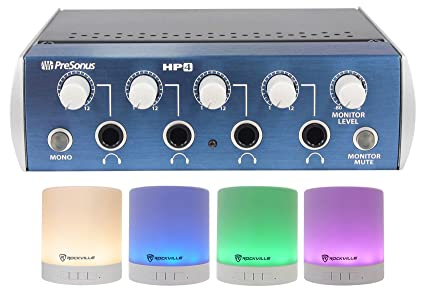 87dcc905882 Image Unavailable. Image not available for. Color: Presonus HP4 4 Channel Headphone  Amplifier ...