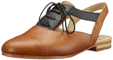 Wolverine Womens 1000 Mile StackedHeel Shoe BrownBlack Size 50