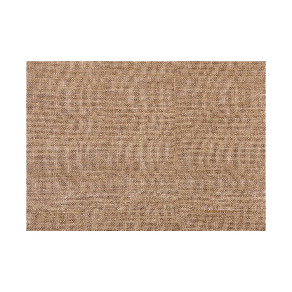 Hoffmaster FP1407 FashnPoint Burlap Printed Place Mat, Ultra Ply, 15.5'' Length x 11'' Width, Natural (3 Packs of 250) (Pack of 750)