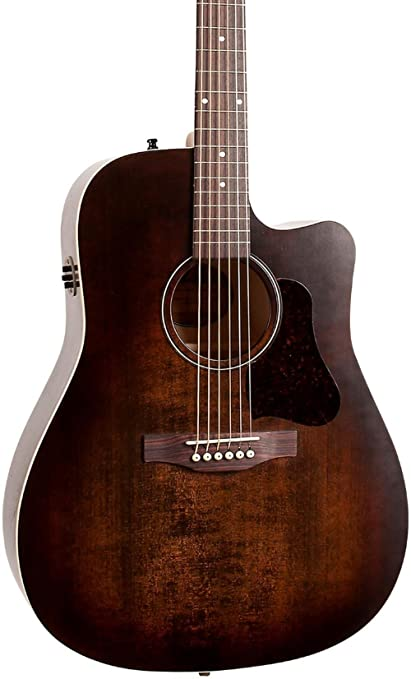 Art & Lutherie Americana Series CW QIT Acoustic-Electric Guitar Bourbon Burst