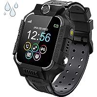Smartwatch voor kinderen, kinderhorloge, telefoon met twee wegs, gesprek, MP3-camera, rekenmachine, recorder en SOS…
