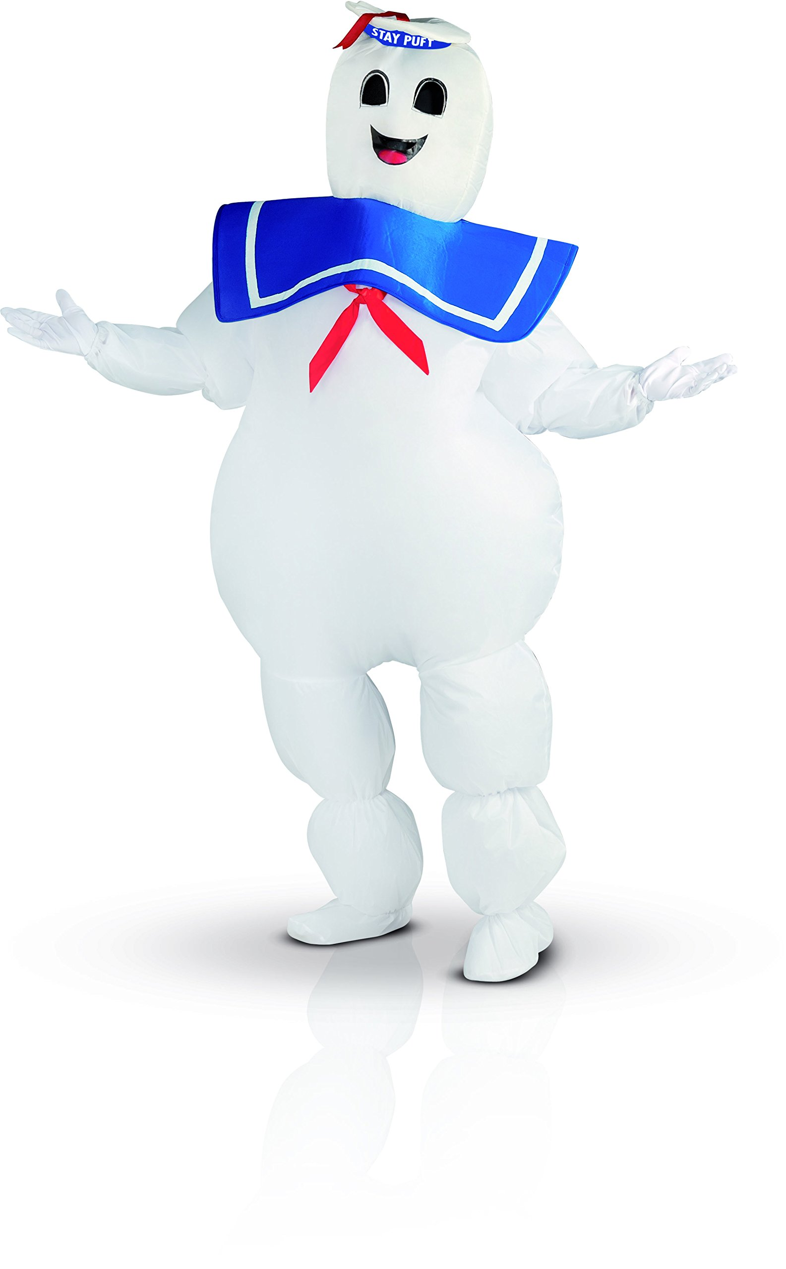 Rubie's Costume Co Ghostbusters Inflatable Stay Puft Marshmallow Man Costume, White, Standard