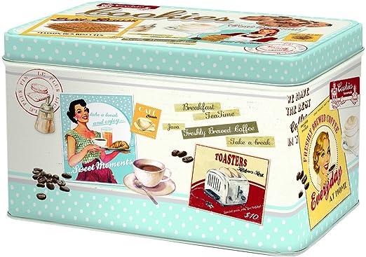 R2S - Caja para Galletas Vintage: Amazon.es: Hogar