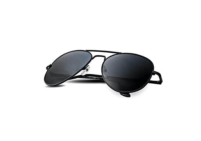 sur des pieds à meilleur endroit pour beau Lunette Aviator Sunglasses for Women and Men with Polarized Lens and UV400  Protection