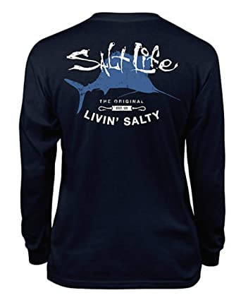 f9f8e29e Amazon.com: Salt Life Child Boys LS Big Shot Graphic Tee Shirt T ...