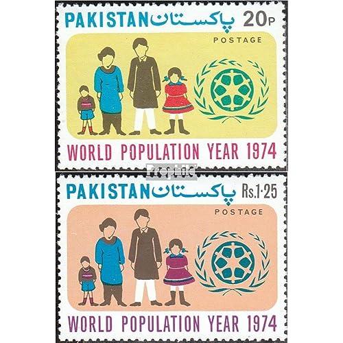 pakistan 363-364 (complète.Edition.) 1974 population (Timbres pour les collectionneurs)