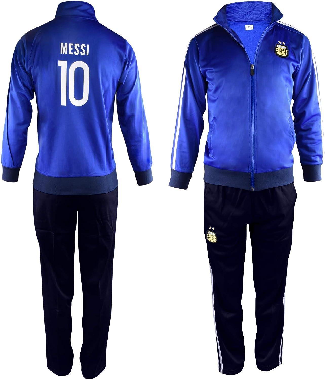DangLeKJ Bambini Barcellona Lionel Messi # 10 Ventilatore di Calcio T-Shirt Kit Jersey for i Bambini Size : 2 Years