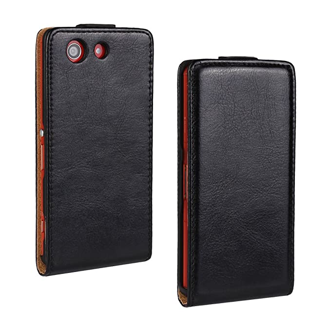 Amazon.com: for Sony Xperia St26i Flip Case Cover PU Leather ...