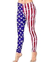 Adult American Flag Leggings,N8835