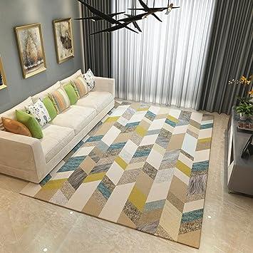 Alfombras Salon Baratas Pelo Largo Gris Modernas Dormitorio Lavables