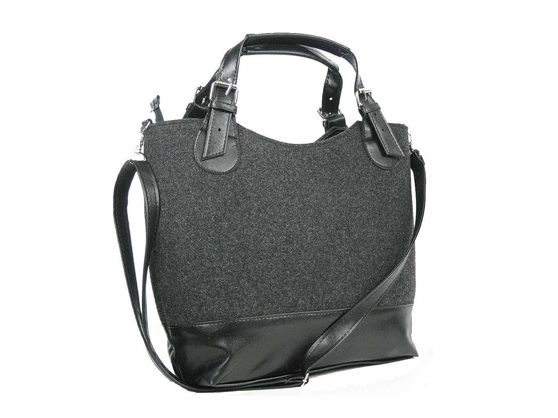 Super Trendy Shopper Bag - Premium Quality Felt - Graphite
