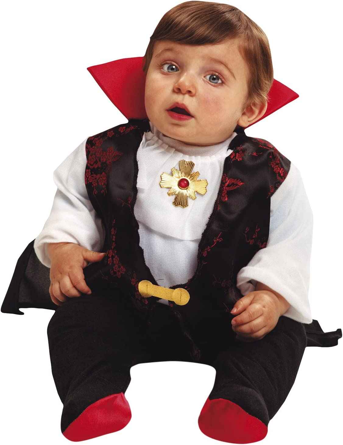 My Other Me Me-203270 Disfraz de bebé Drácula para niño, 1-2 años (Viving Costumes 203270): Amazon.es: Ropa y accesorios