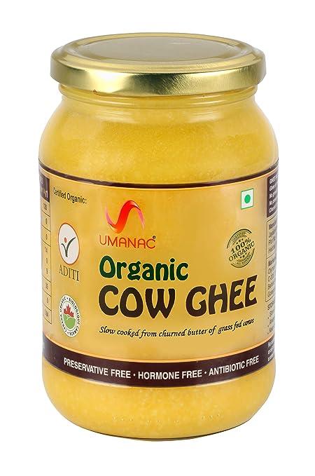 fbebeb8f750 Umanac Organic Cow Ghee