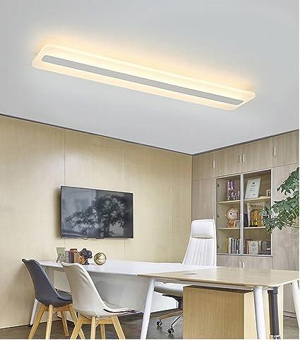XH Lámpara de Techo Led Luces de Pasillo Rectangular Hogar ...