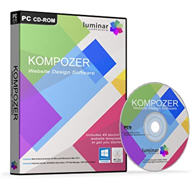 Kompozer - Web Design Software - Create your own amazing website ...