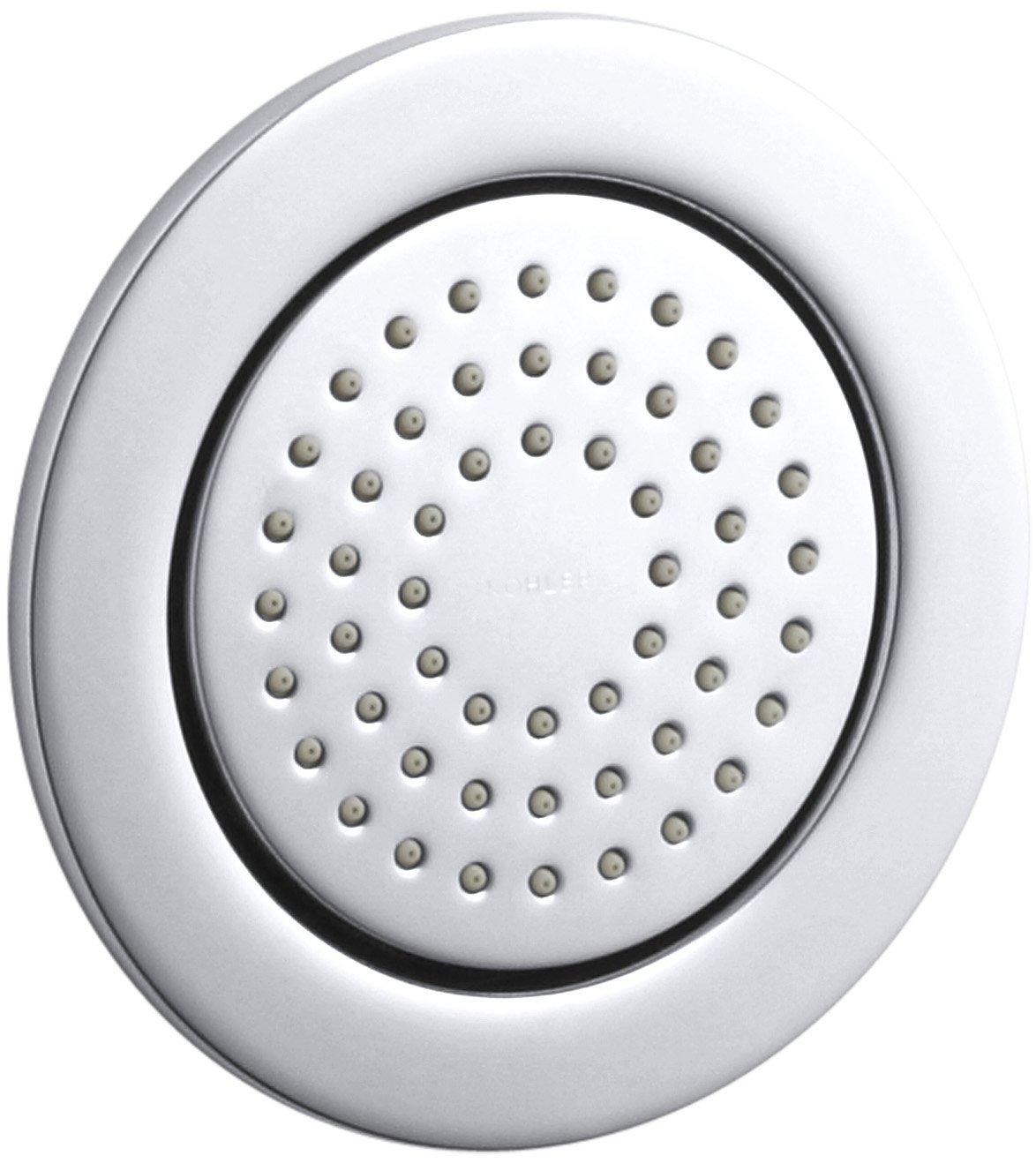 KOHLER K-8014-CP WaterTile Round 54-Nozzle Body Spray, Polished Chrome