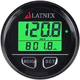 LATNEX® Waterproof Digital GPS Speedometer Backlight for ATV UTV-Marine-Boats-Motorcycle- Automobile Motor Vehicle Bikes