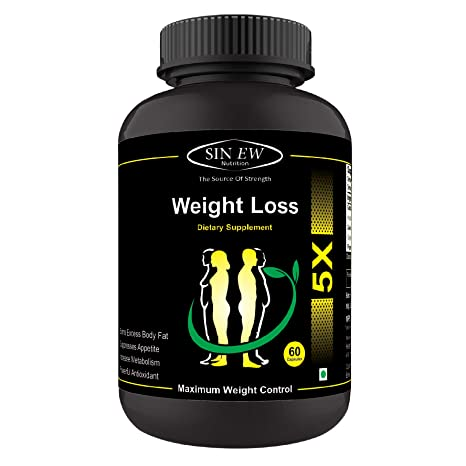 Sinew Nutrition Weight Loss 5x Garcinia Cambogia Extract Green