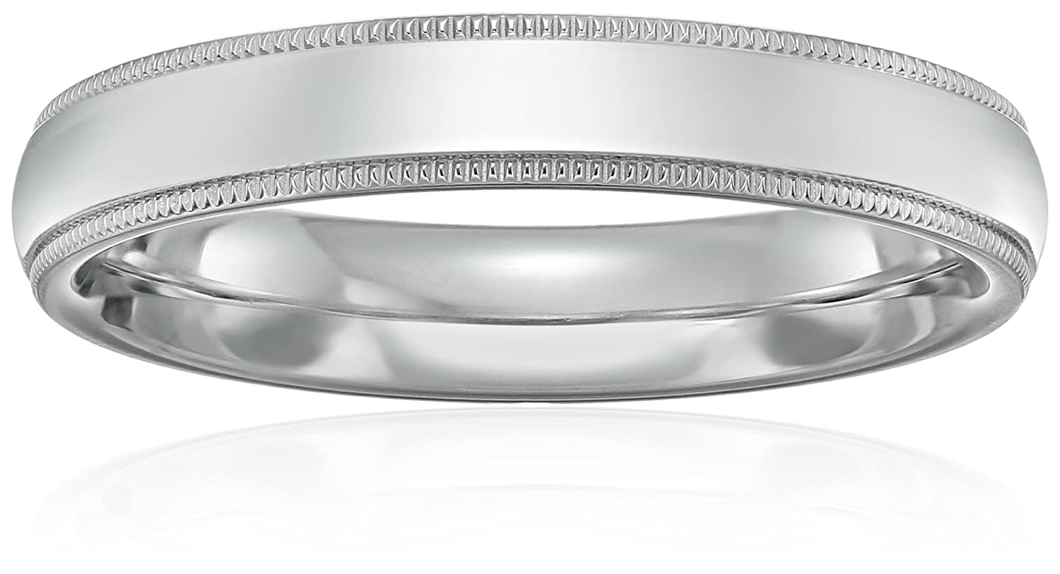sylvie classic accents product milgrain with platinum bands band rings wedding main