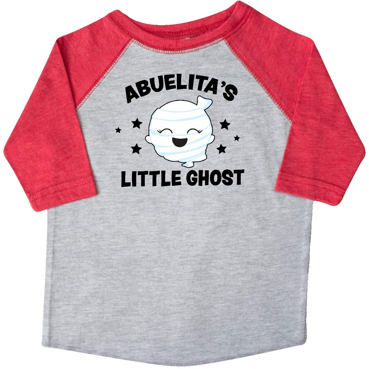 inktastic Cute Abuelitas Little Ghost with Stars Toddler T-Shirt