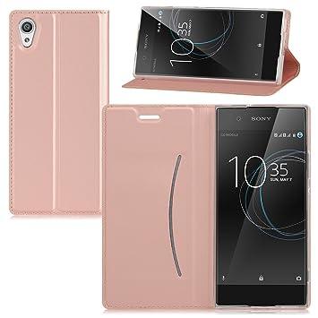 Sony Xperia XA1 Funda carcasa / caso / case, KuGi ® Sony Xperia XA1 Funda- BW estilo de alta calidad caja ultrafina de la PU del soporte para Sony ...