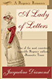 A Lady of Letters: A Regency Romance (English Edition)