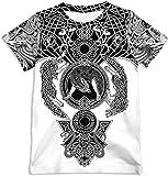 Silver Basic Camiseta Unisex para Niños con Estampado 3D de Verano, Camiseta Divertida de la NASA Venom Joker para Niños…