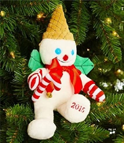 dillards mr bingle 2015 plush snowman christmas ornament 10