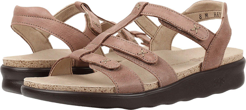 SAS Womens Sorrento Leather Open Toe Casual Slingback Sandals B01MCXMYOZ 11 M (M) (B) US|Praline