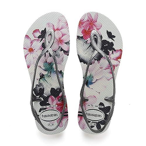 25427c7727840 Havaianas Women s Luna Print Sandals  Amazon.co.uk  Shoes   Bags