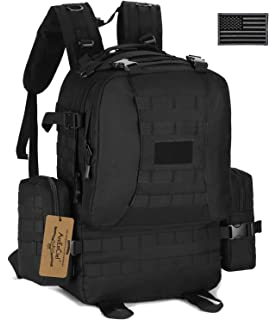 ArcEnCiel Tactical Backpack Military Outdoor 3 Day Assault Pack Survival Rucksack Army Molle Bug Out Bag