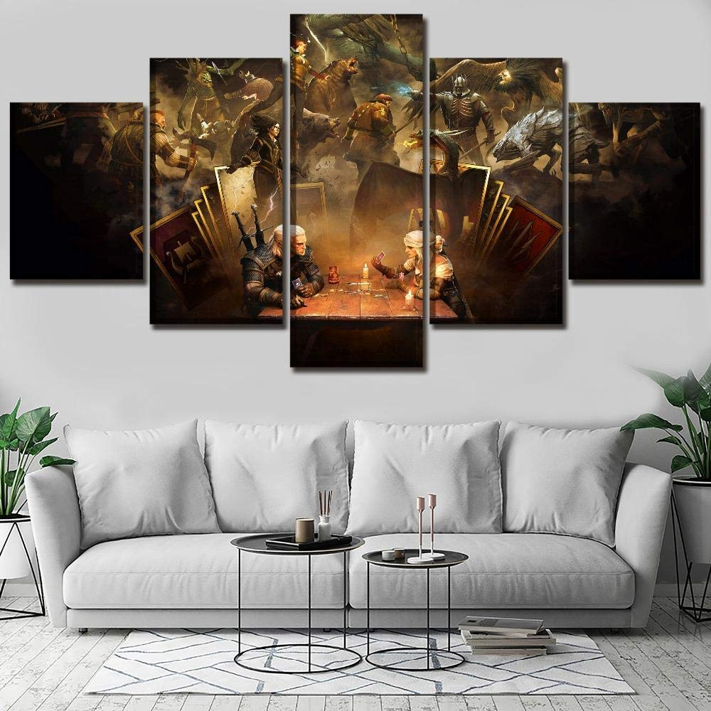WEMUR Lienzo HD Imprimir Fotos Sala de Estar Decorativa 5 ...