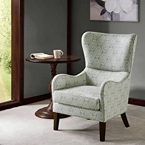 Swoop Wing Chair Arianna/Blue Multi