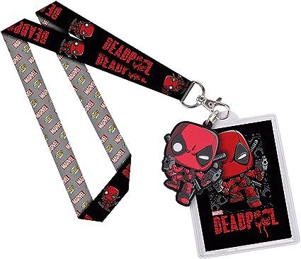 Amazon.com: Funko Lanyard: Marvel – Deadpool Figura de ...