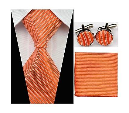 Pragmaticv Conjuntos de corbata de negocios de los hombres delgado ...
