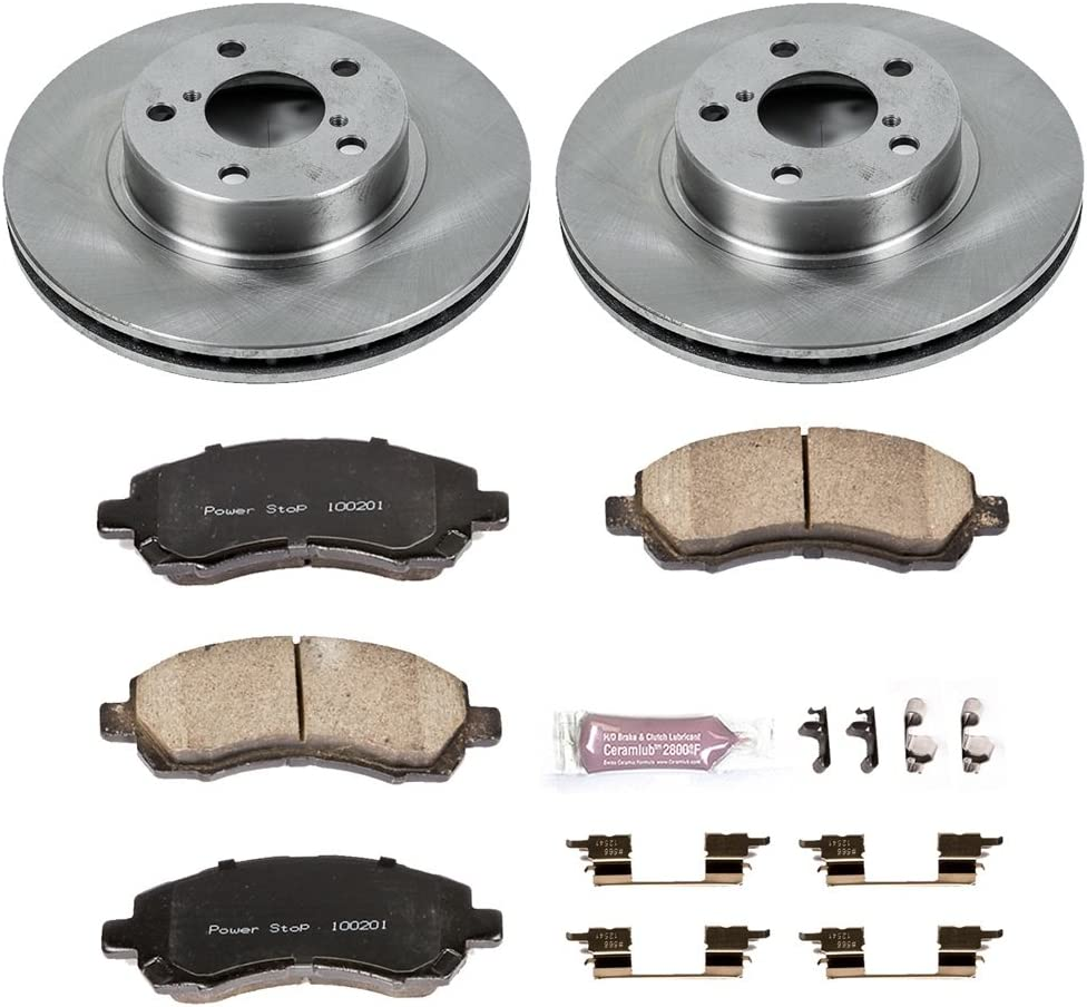 Autospecialty KOE914 1-Click OE Replacement Brake Kit