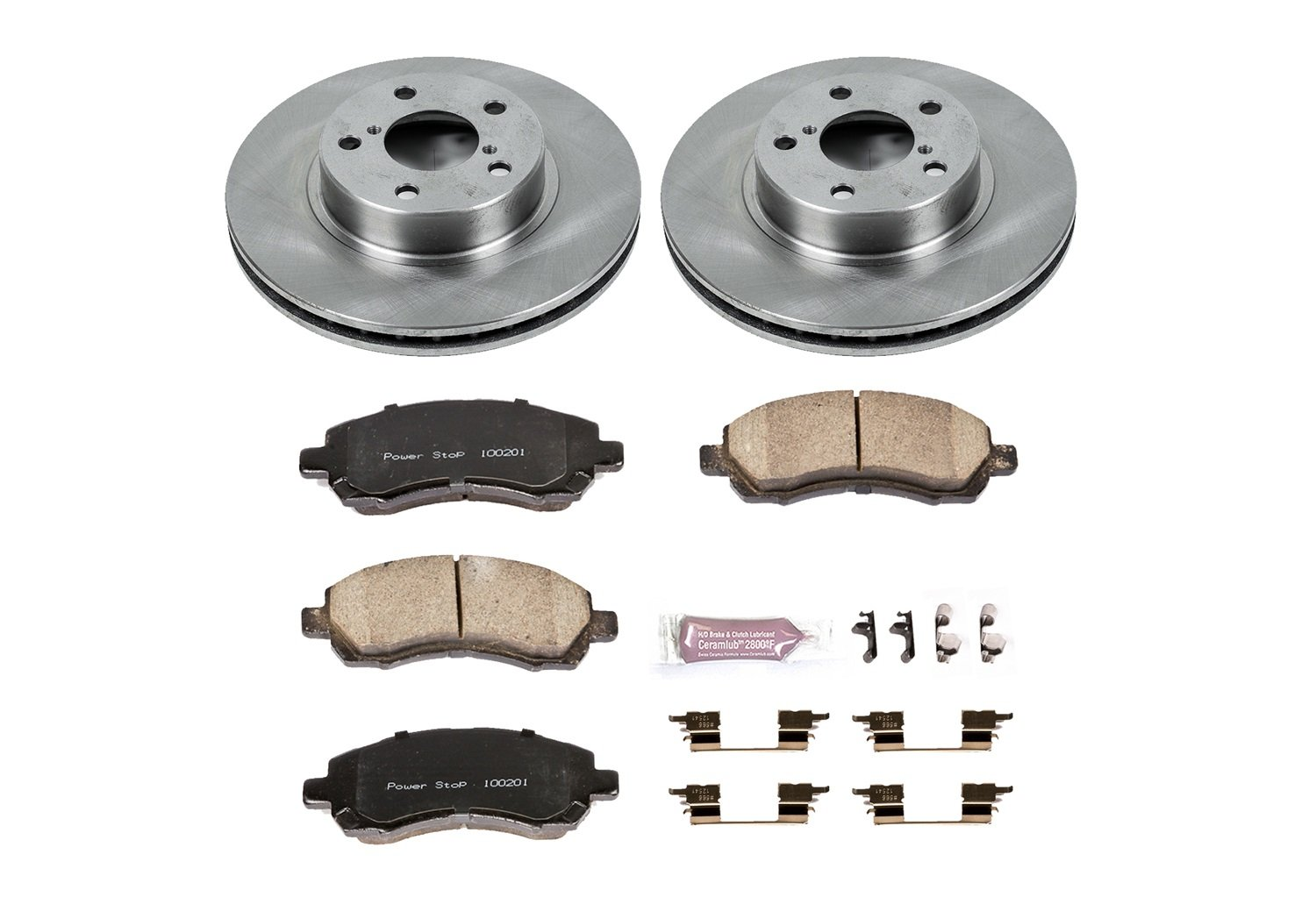 Autospecialty KOE445 1-Click OE Replacement Brake Kit