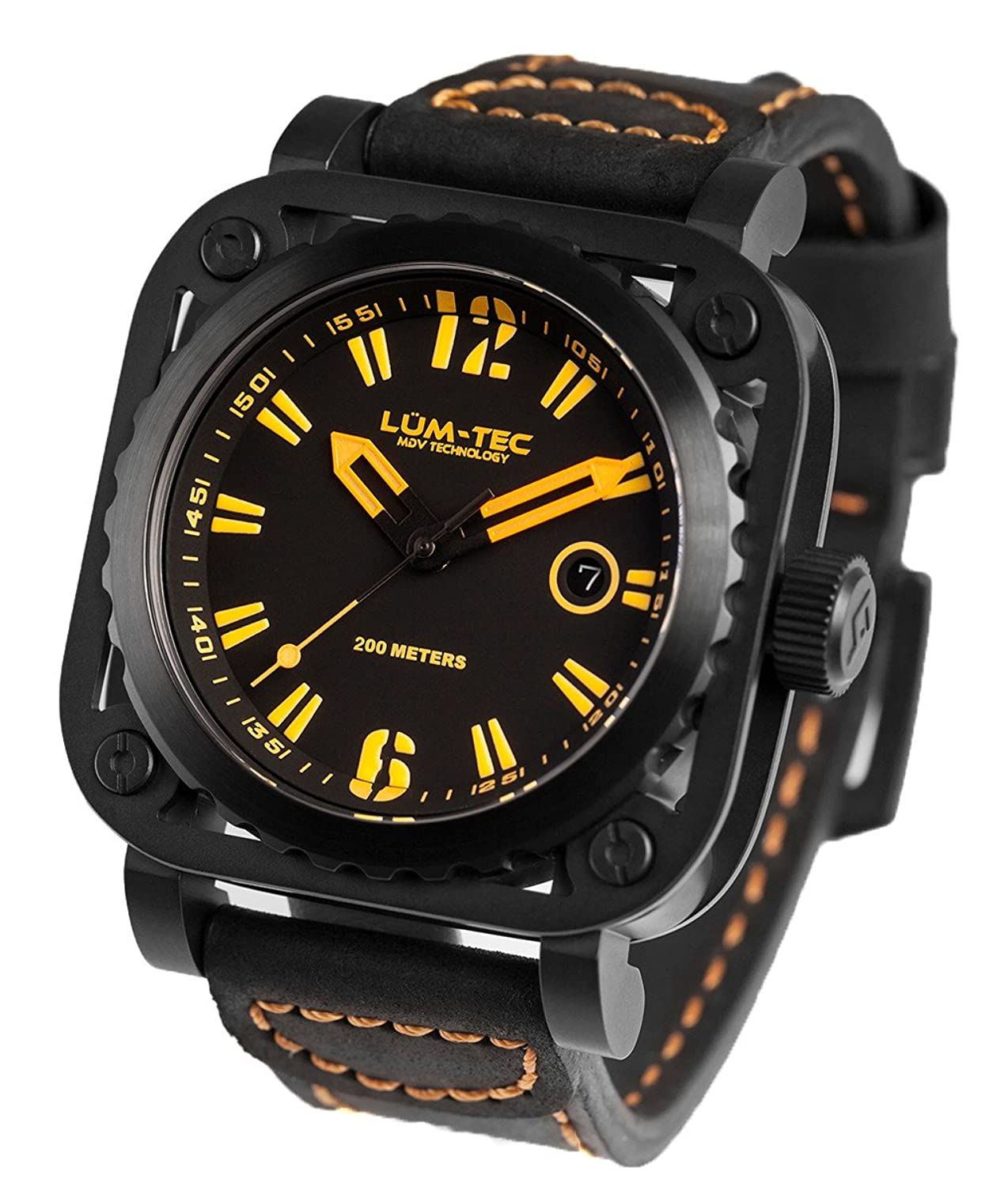 lum nt watches products tec strap sportique watch mg phantom rubber