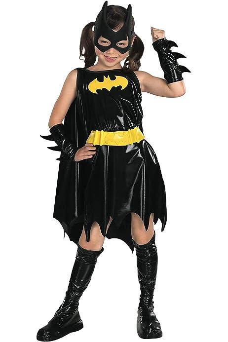 CK802 Deluxe Batgirl DC Comics Superhero Hero Girls Fancy Dress Up Child Costume