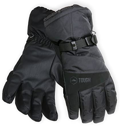 b3f99eb418ebf2 Winter Ski & Snowboard Gloves with Wrist Leashes - Waterproof & Windproof  Snow Gloves for Skiing
