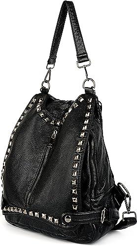 Amazon.com: UTO cartera, bolso de hombro convertible en ...
