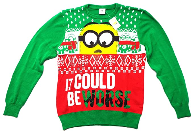 Minion Ugly Christmas Sweater
