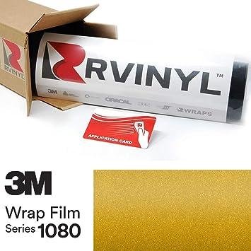 3M 1080 Series SATIN BITTER YELLOW Vinyl Vehicle Car Wrap Film Roll S335