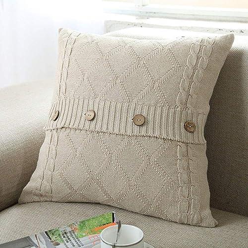 Knit Pillows Amazon Com