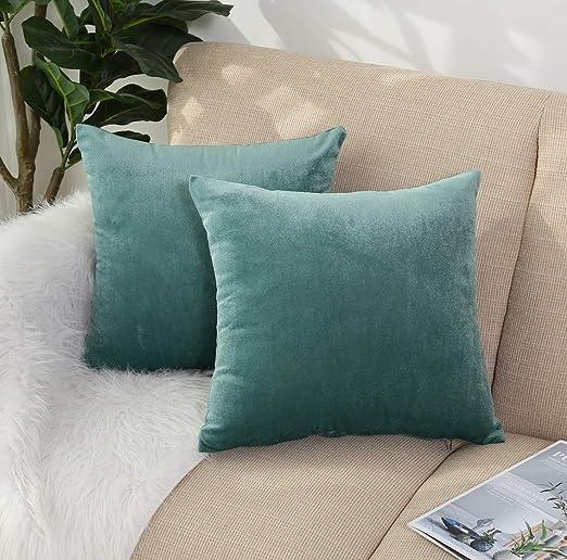 Velvet Cushion Cover Throw Pillow Case New Fashion Sofa Car Home Decor Zip Up