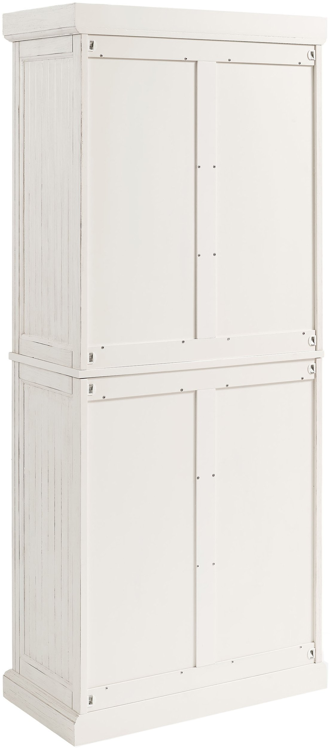 Crosley Furniture Seaside Kitchen Pantry Cabinet - Distressed White by Crosley Furniture (Image #13)